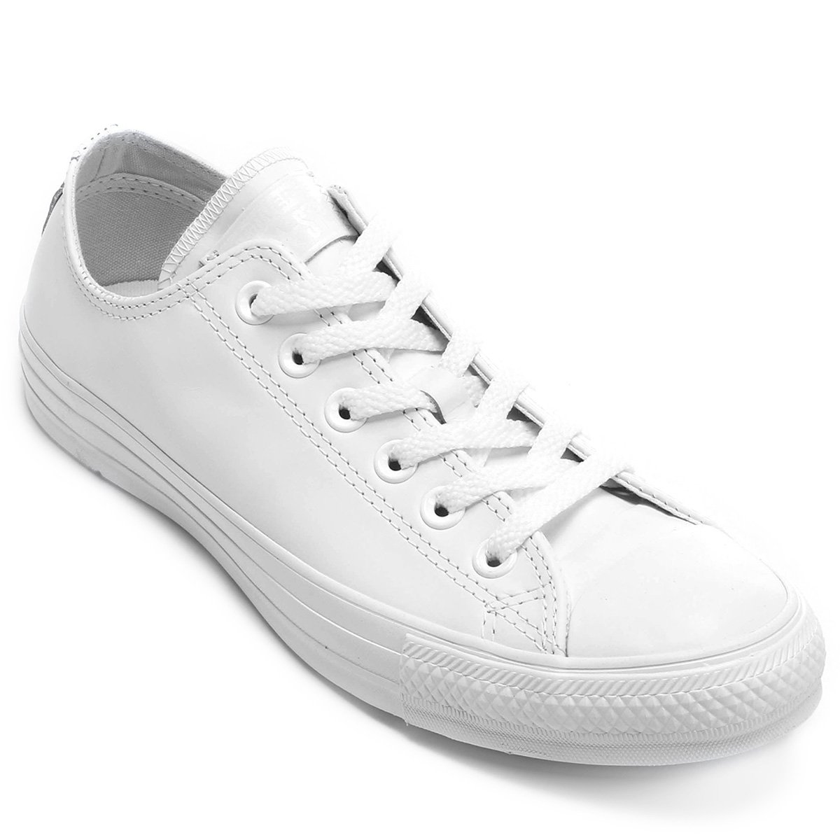 Tênis All Star Converse Ct As Monochrome Leather Branco