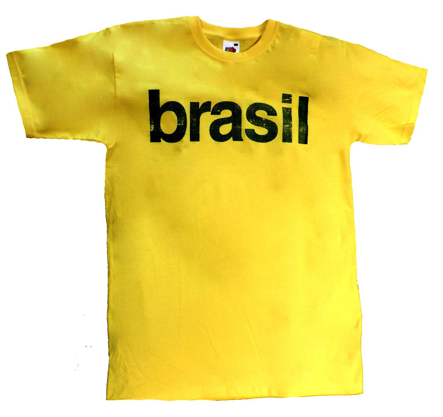 Camiseta Drastosa Brasil Amarela