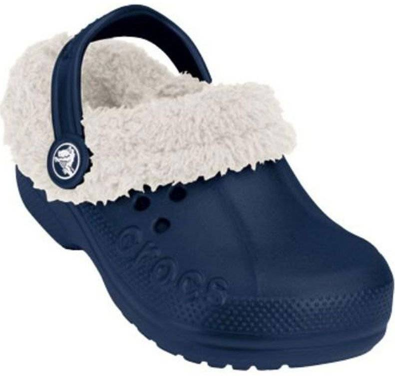 Crocs Blitzen Kids Navy/Oatmeal