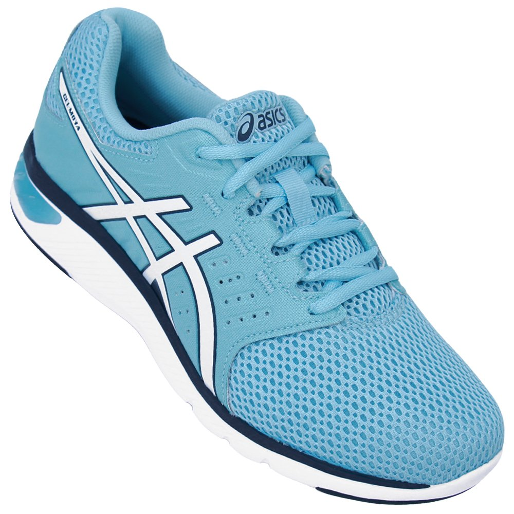 Tenis Asics Gel Moya A Blue/White/Porcelain Blue
