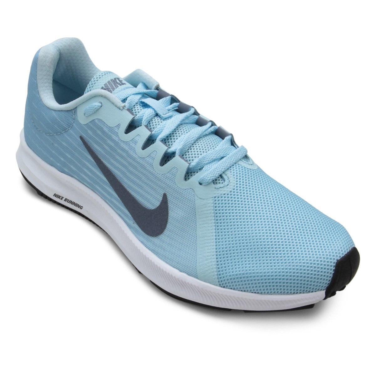 Tenis Nike Dowshifter 8 Cobalt Tint/ Lt Carbon/ Leche Blue/ WHT