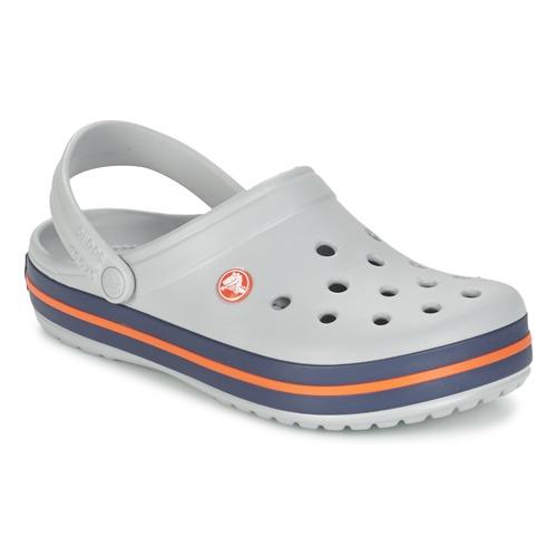Crocs Crocband Light Grey/Navy