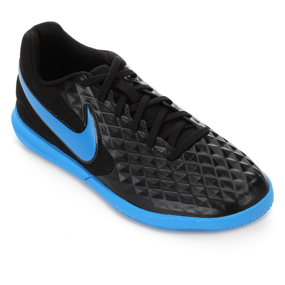 Chuteira Nike Tiempo Legend 8 Club IC Black/Blue Hero