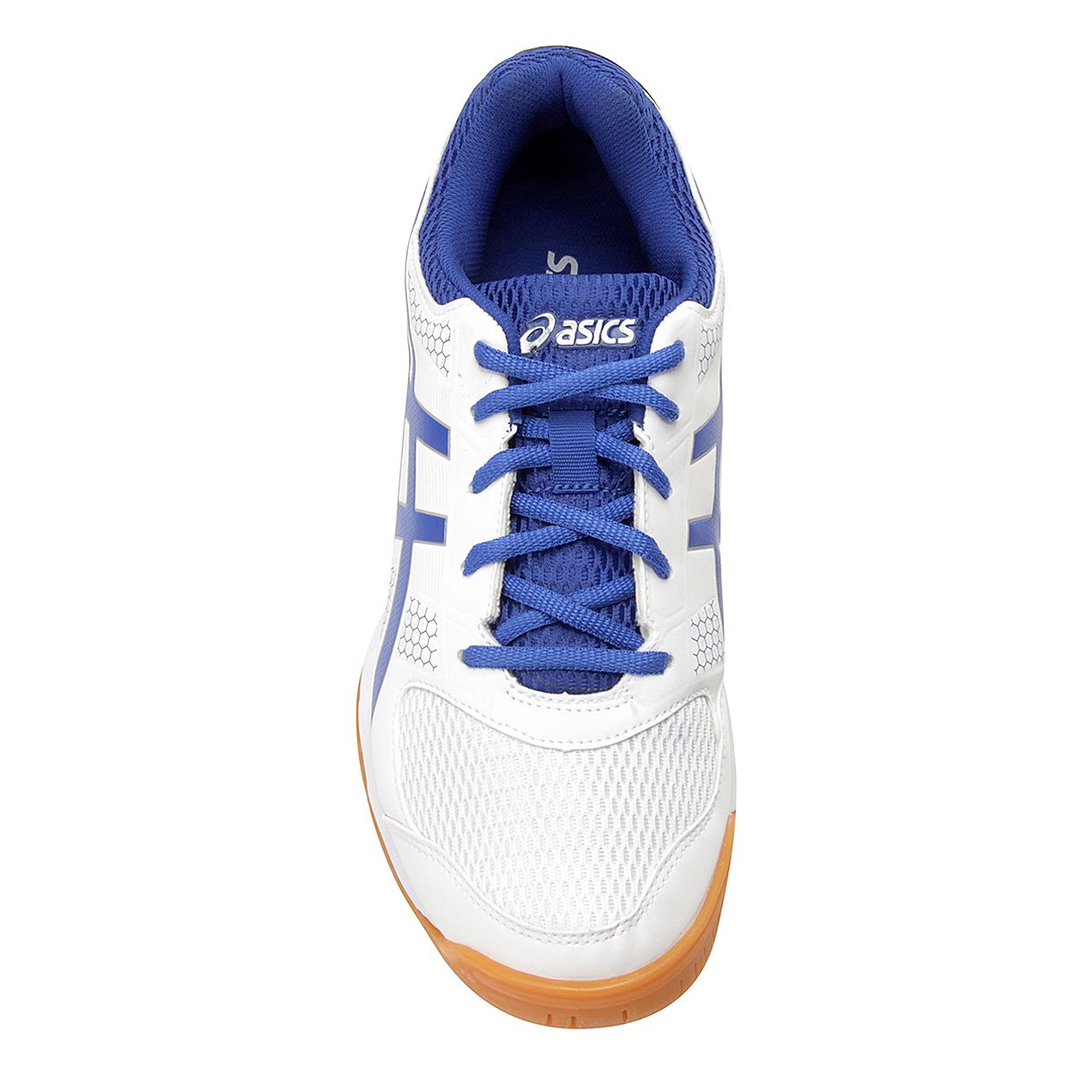 Tênis Asics Gel Rocket 8 A White/Illusion Blue
