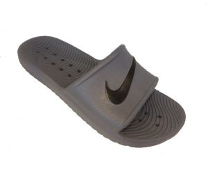 Chinelo Nike Kawa Shower – Dark Grey/Black Gris Fonce/Noir