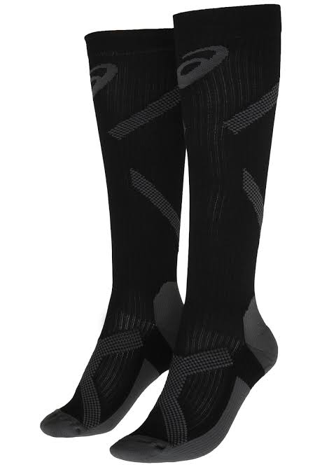Meia Asics Hight Compression Sock – Black