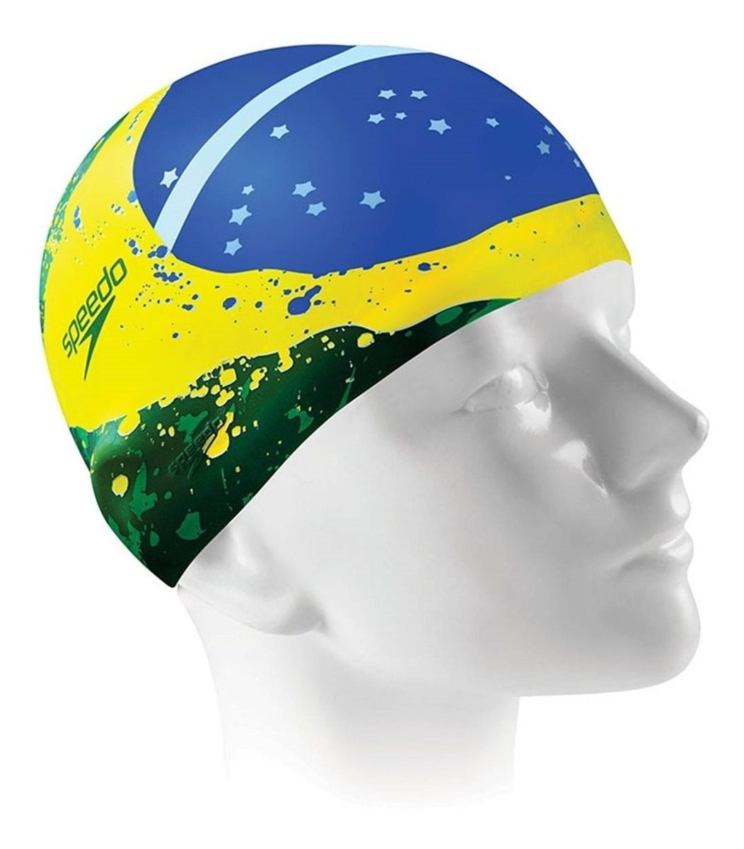 Touca Speedo Brazil Flag Cap