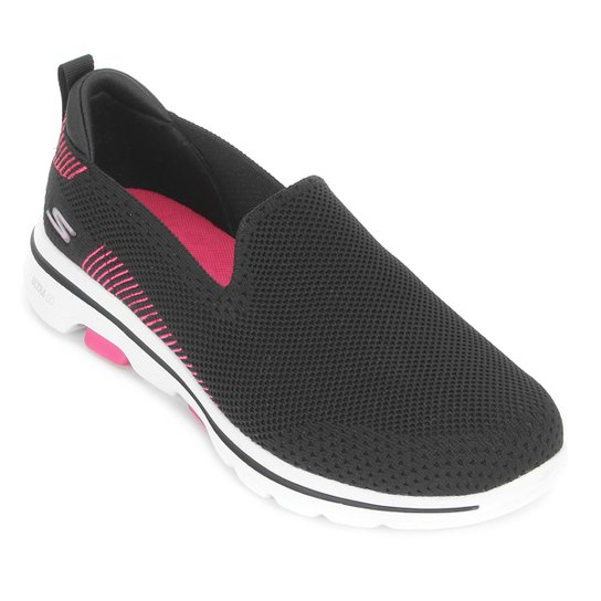 Tênis Skechers Go Walk 5 Black /Pink