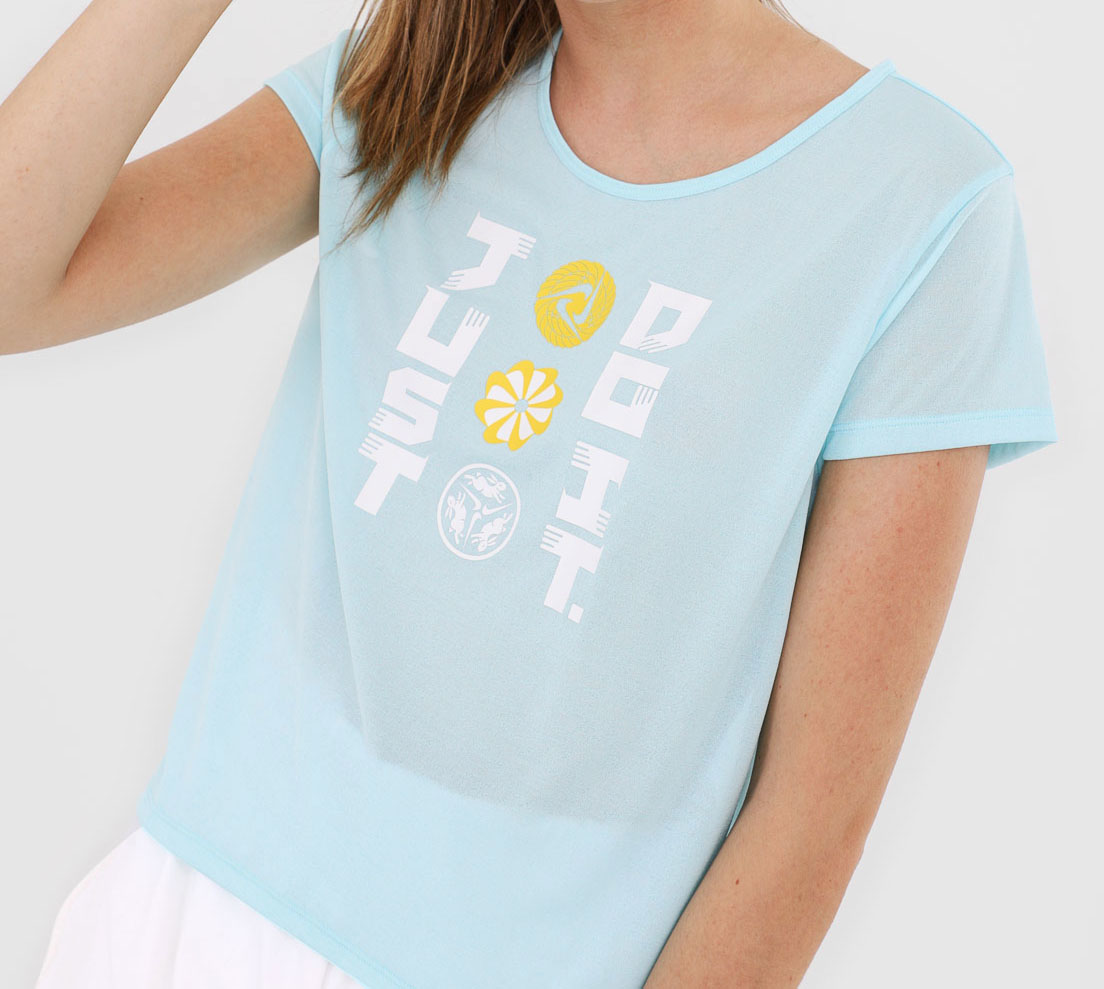Camiseta Nike Icnclsh SS Feminina