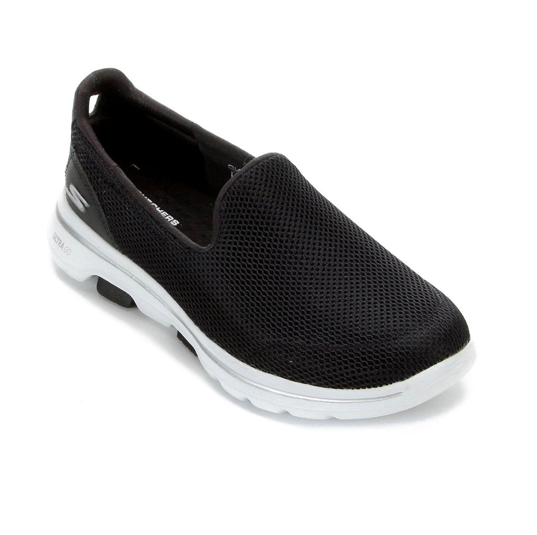 Tênis Skechers Go Walk 5 Black/White