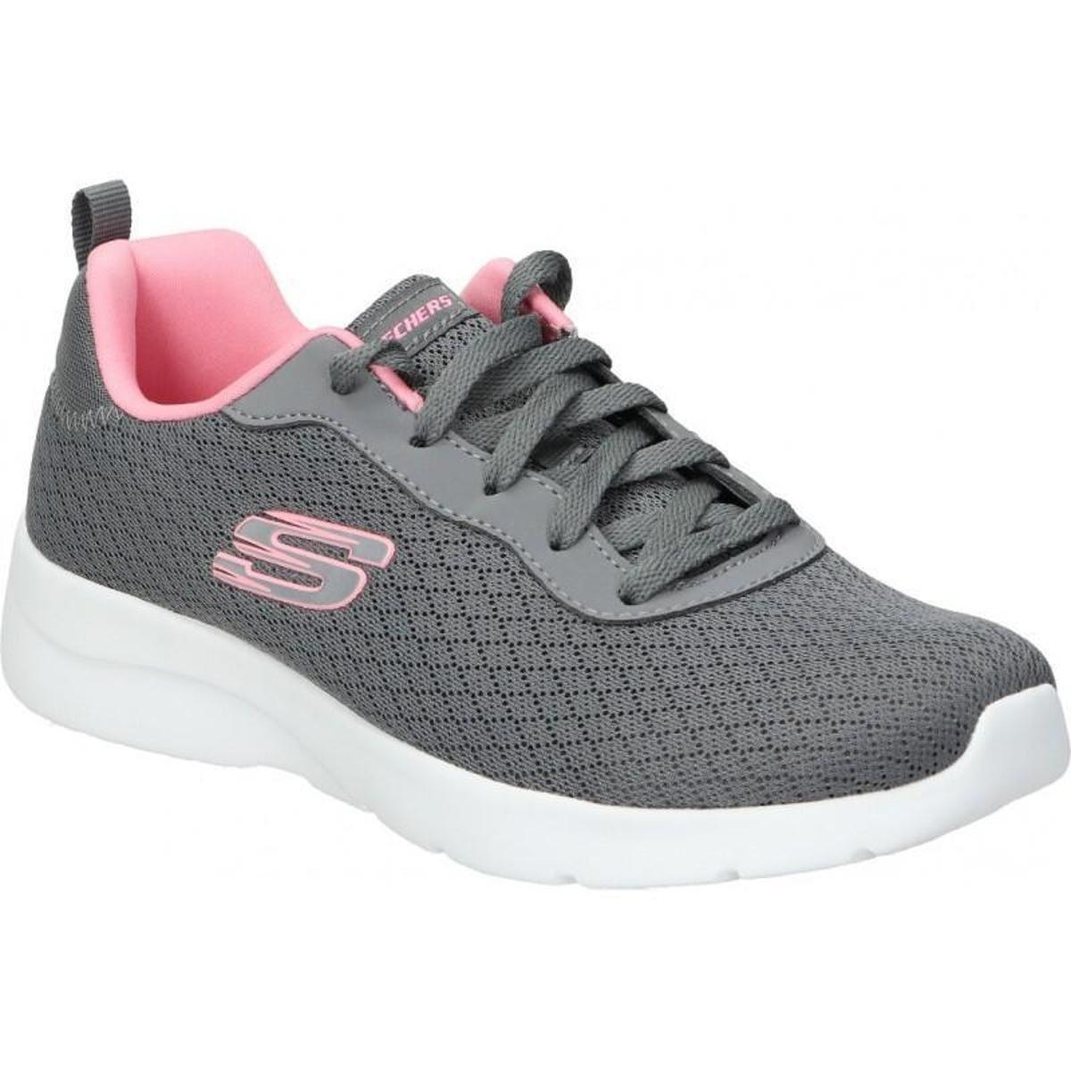 Tênis Skechers Dynamight 2.0 carvão/coral