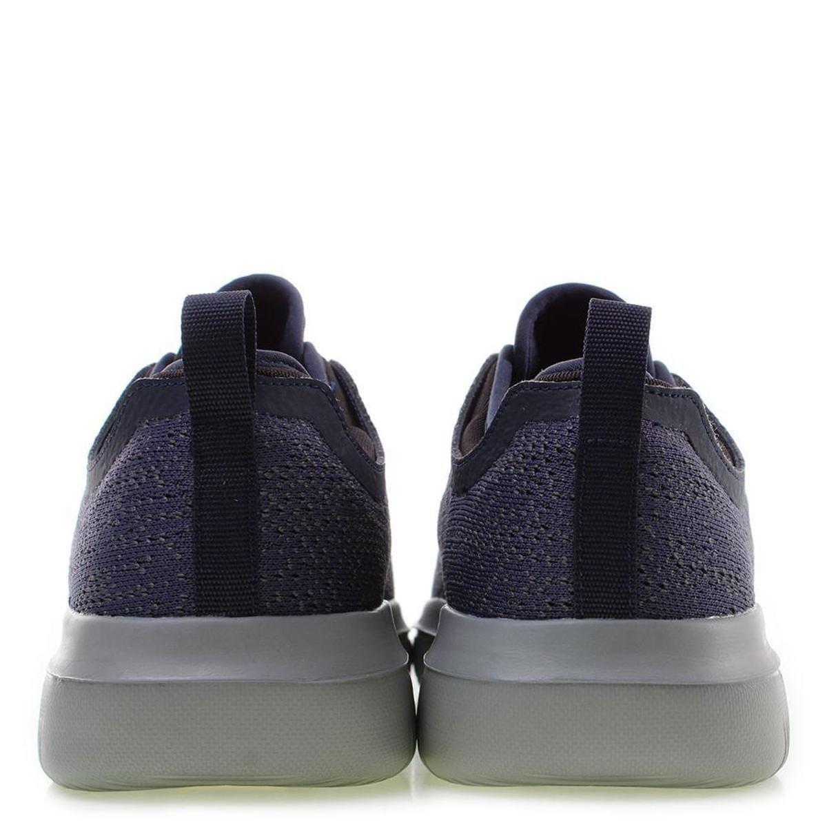 Tênis Skechers Go Walk Evolution Ultra Logic azul/cinza