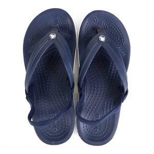 Chinelo Crocs Infantil Crocband Strap Flip – Marinho