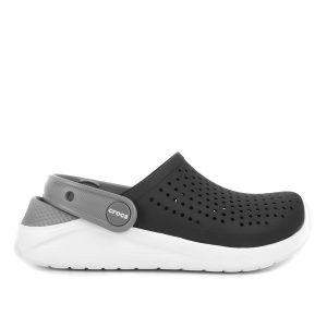 Crocs LiteRide Clog – Preto/ Branco